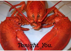 Tonight.  You.