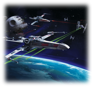 Star Wars X-Wing Miniatures Game Cover Art