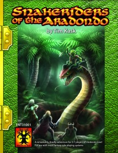 Snakeriders of the Aradondo cover