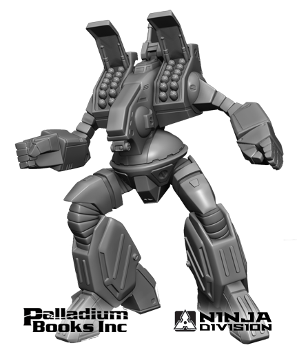 Robotech RPG Tactics Spartan