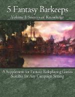 5 Fantasy Barkeeps, Volume 1